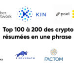 Top 100-200 des crypto résumées en une phrase