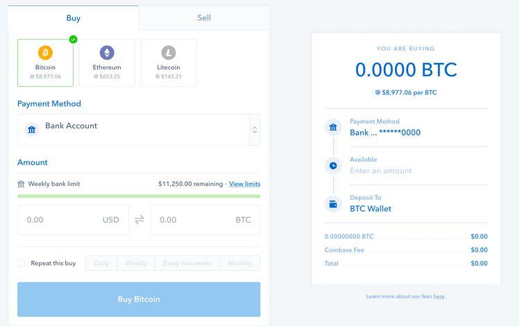 acheter crypto coinbase