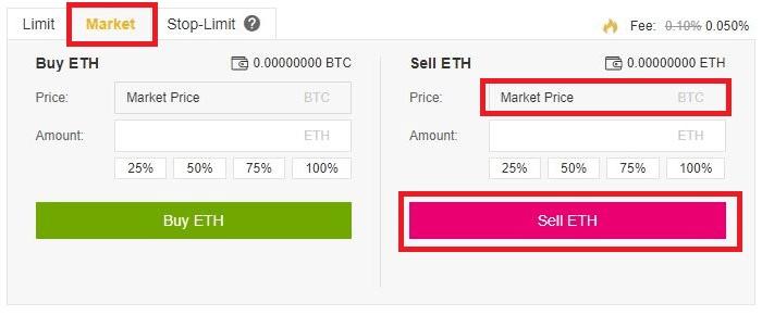 acheter des bitcoin sur binance avec de l'ethereum