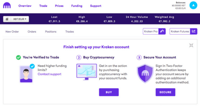 acheter des bitcoin sur kraken