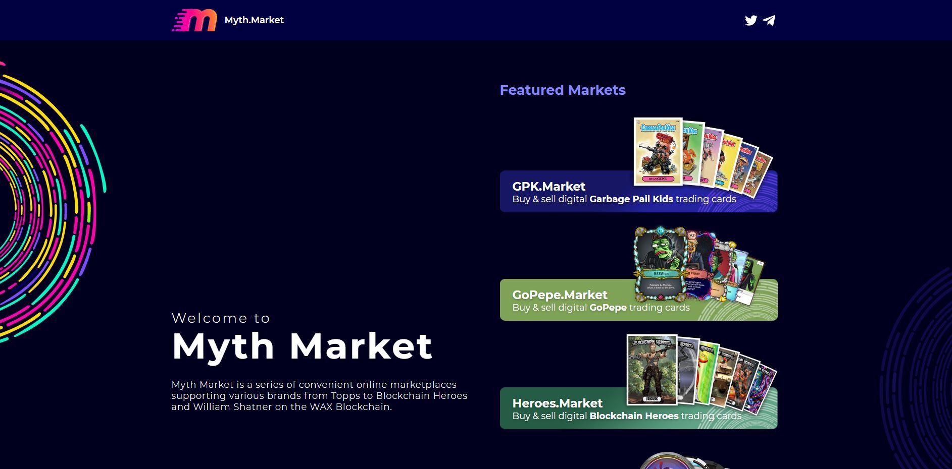 myth market interface