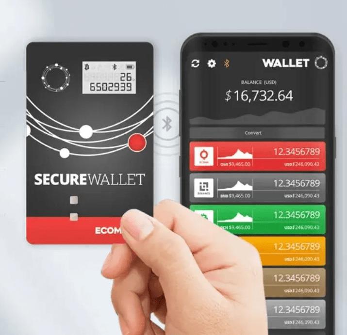 wallet ecomi